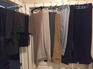 Women s Pants   Slacks   Size 12  14  16 w hangers