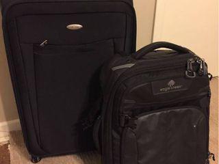 Medium Wheeled Samsonite Suitcase   Small Eagle Creek Wheeled Travel bag