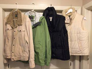 Eddie Bauer  Gap  loft    Chaps Women s Jackets Vests   Size l Xl