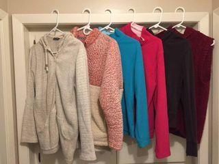Women s Fleece  Sweater Vest  Jackets Pullovers   size M l Xl
