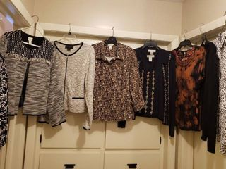 Women s Jackets and Blouses   Sizes l and Xl
