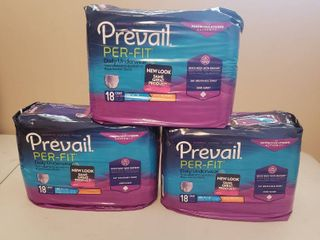 3  New Packages Prevail Per Fit Daily Underwear For Women   large