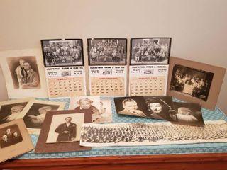 Vintage Photos and Calendars