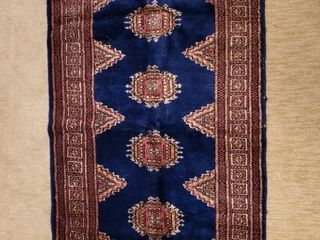 54 in  x 30 in  Signed Persian Rug