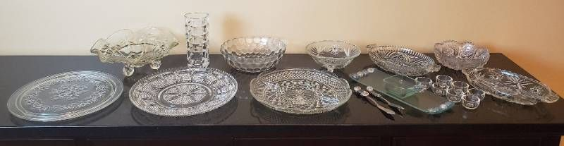 Clear Glass Serving Dishes