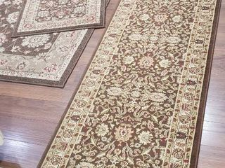 3 Area Rugs  Chester lg    Matching 2x3ft    Ankara 2x8 ft  and 2 Pkgs  of Rug Stop