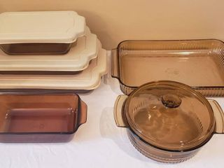 Anchor Hocking Cookware   10 pieces