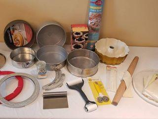 Kitchen Baking Items