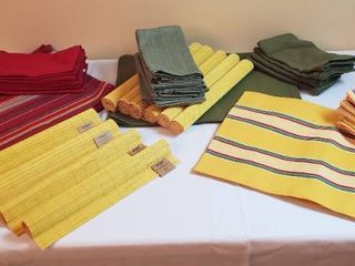 4 Sets of Placemats and Dinner Napkins