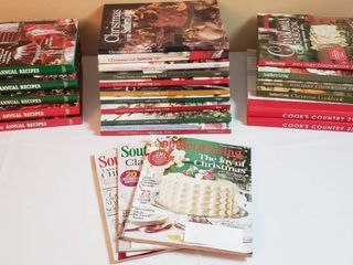 Holiday Southern living   Cook s Country Cookbooks   Magazines