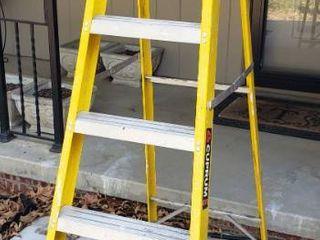 6 Ft  Fiberglass Step ladder