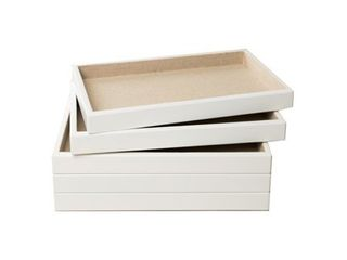 Hives   Honey White 5 piece Stackable Tray