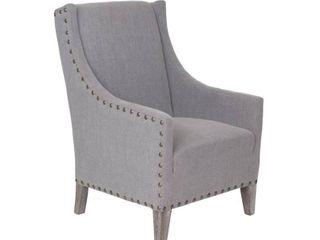 Cass Wingback Club Chair