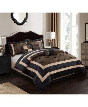 Nanshing Pastora 7 piece Patchwork Queen Comforter Set