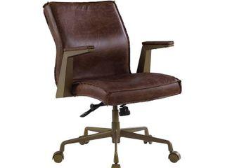 ACME Attica Executive Office Chair in Espresso Top Grain leather
