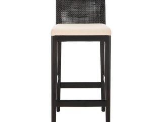 Safavieh 29 inch Darin Black   White Cushion