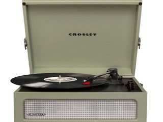 Voyager Turntable  Green