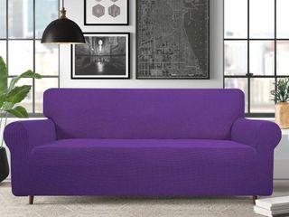 Modern Style High Stretch Box Cushion Sofa Slipcover