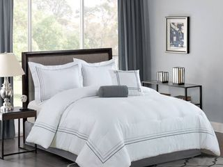 Bellagio 5pc Comforter Set   Queen