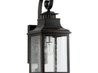 Morgan 1 light Outdoor Wall Mounted lighting Oil Rubbed Bronze Finish   Oil Rubbed Bronze by AA Decor