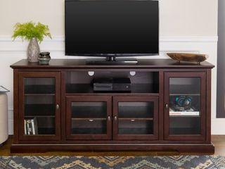 Contemporary TV Stand for TVs up to 78    Espresso
