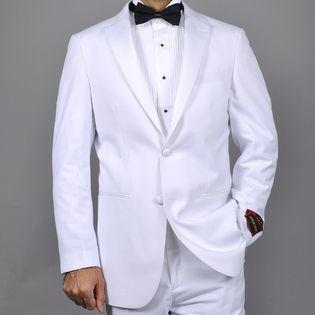 Giorgio Fiorelli Men s White 2 Button Tuxedo