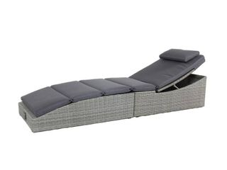 Florence Folding Wicker Outdoor Chaise lounge by Made 4 Home