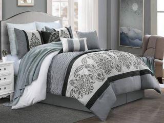 Gracewood Hollow Hongo 7 piece Queen Comforter Set   Queen