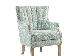 Madison Park Stevie light Teal Accent Chair
