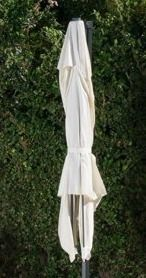 Christopher Knight Home  Royal Water resistant Fabric Canopy Umbrella   beige