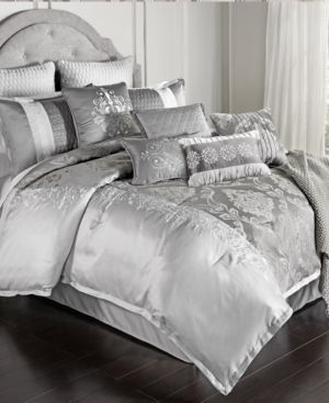 Kacee 12 pc Queen Comforter Set by Hallmart Collectibles