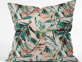 Two tropical pillow cases by Deny Designs
