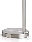 Orbita 82 Inch Brushed Nickel Retractable lamp Base