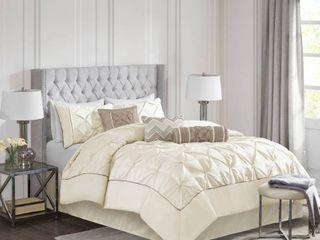 Home Essence Piedmont 7 Piece Tufted Queen Comforter Set