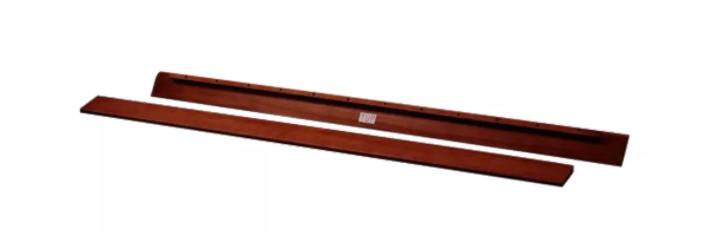 Urban Side Rails Walnut color Size TXl  Queen  King