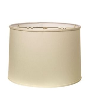 Cloth   Wire Slant Retro Drum Hardback lampshade with Washer Fitter  Egg