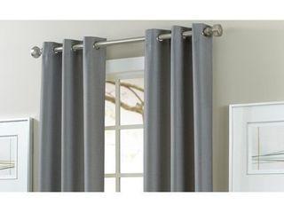 Modern Threads Textured Blackout Curtain Panel Pair   37 x 84