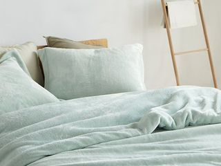 Coma Inducer Duvet Cover   Me Sooo Comfy   Hint of Mint   King