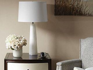 Calla White Table lamp by Hampton Hill