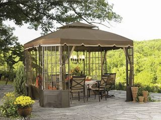Sunjoy Replacement Canopy set  Deluxe  for l GZ120PST 2S GO Bay Window Gazebo  Retail 165 49