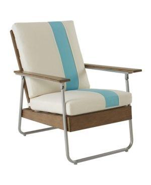 lila Patio lounge Chair   Turquoise   Novogratz
