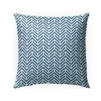Chevron Ocean Indoor Outdoor Pillow