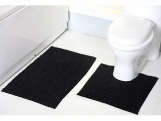 Avani 2 Piece Cotton Bath Rug Set