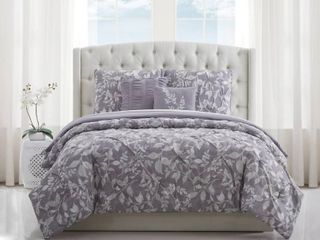 Style 212 Alexa Floral King Comforter Set Bedding