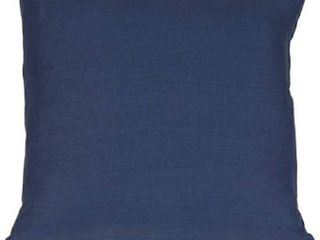 17x17 Tuscany linen Wedgewood Throw Pillow Blue