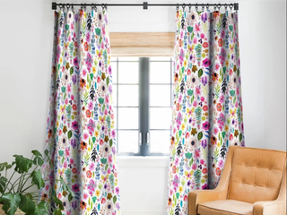 Stephanie Corfee Garden Baby Blackout Curtain Panel set of 2