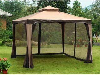 Sunjoy Replacement Canopy set for l GZ513PST 10X10 Hb   Chatam Gazebo   Retail 93 49