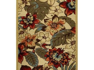 Maxy Home Hamam Collection HA 5079  Non Skid  Rubber Back Door Mat   18 inch by 31 inch   1 x2