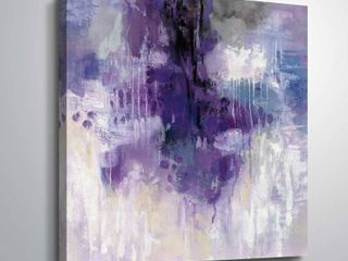 ArtWall s Violet Rain Gallery Wrapped Canvas