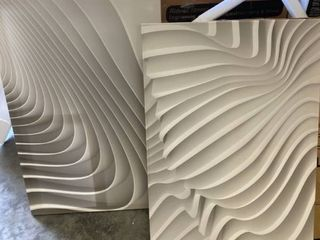 Waves Abstract Canvas Art Retail 119 99